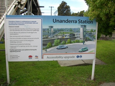 SydneyTrains_UnanderraStation