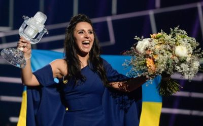 Ukraine's Jamala: 2016 Eurovision Song Contest winner Image source: www.telegraph.co.uk